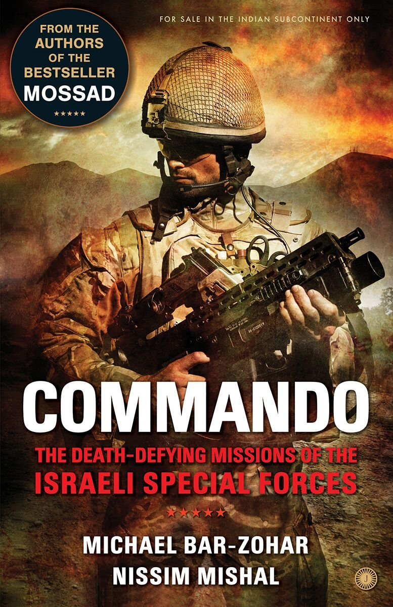 Cover of the book Commando for the review on Bookstalkist