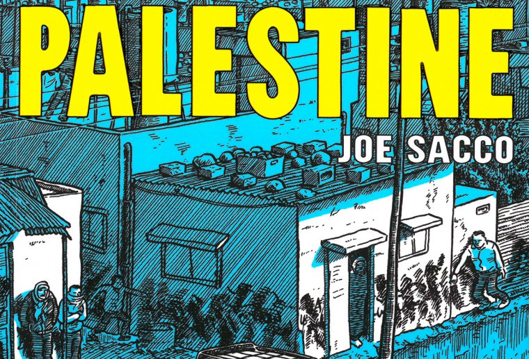 Joe Sacco's Palestine Cover Image