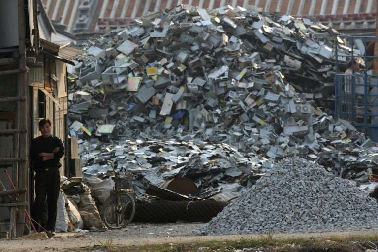 E-Waste Scrapyard in China | Source: Greenpeace