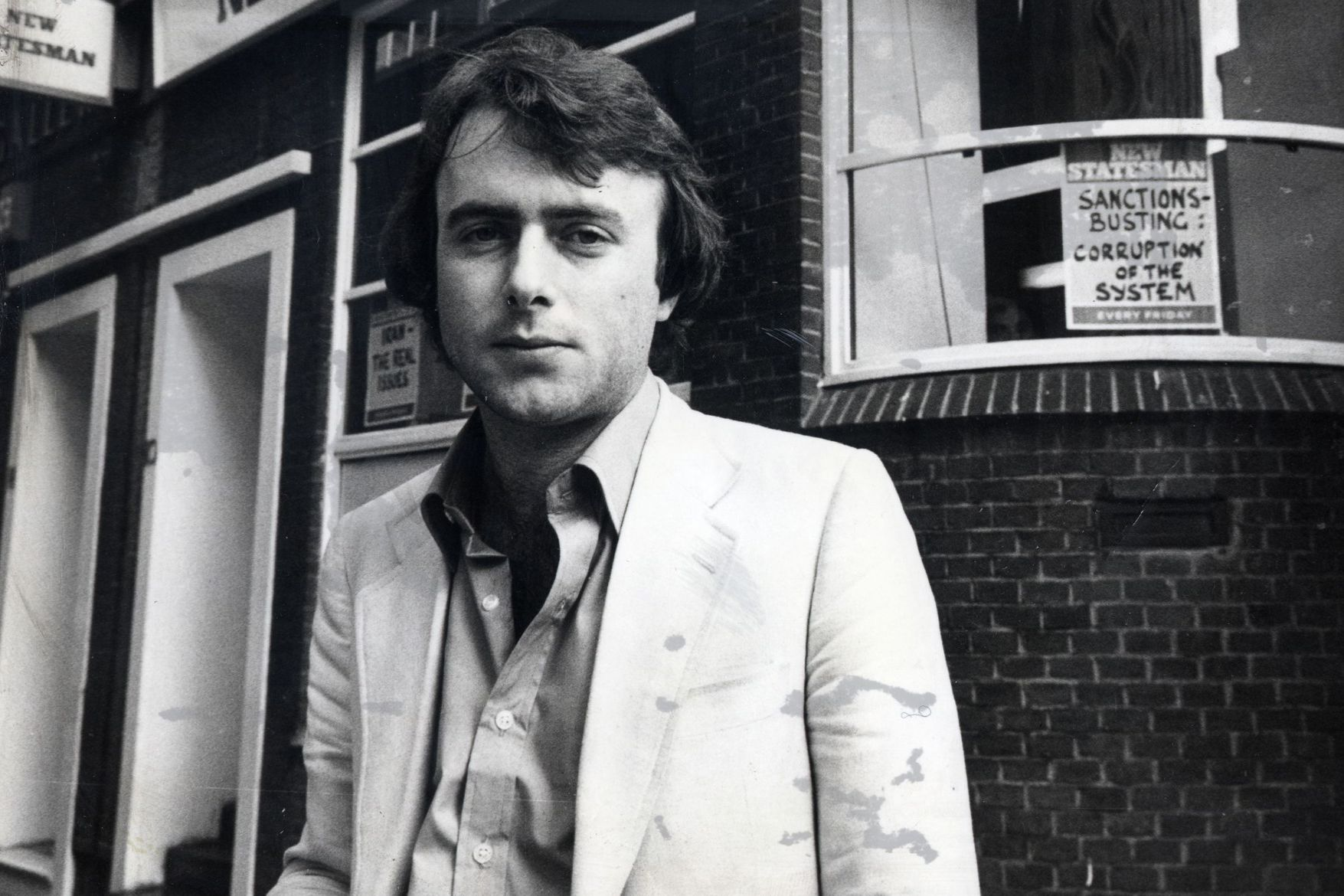 Christopher Hitchens, Photograph by John Dempsie, c. 1978